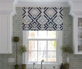 Most popular grey and white kitchen curtains ideas 22