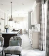 Most popular grey and white kitchen curtains ideas 23