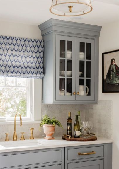 Most popular grey and white kitchen curtains ideas 32