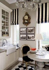 Most popular grey and white kitchen curtains ideas 41