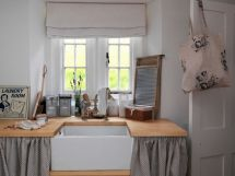 Most popular grey and white kitchen curtains ideas 43