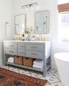 Most popular mid century modern bathroom lighting 33
