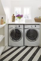Outstanding black and white laundry room ideas 08