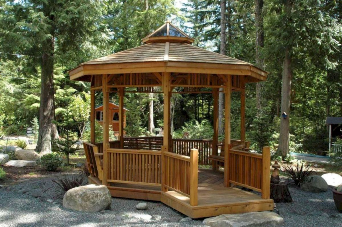 Relaxing gazebo design ideas you can copy 08