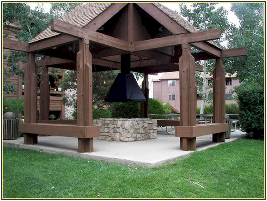 Relaxing gazebo design ideas you can copy 39