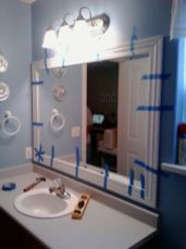 Stunning bathroom mirror decor ideas 28