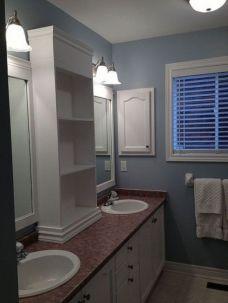 Stunning bathroom mirror decor ideas 39