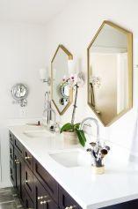 Stunning bathroom mirror decor ideas 41