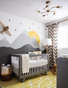 Stylish baby room design and decor ideas 11
