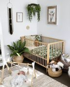 Stylish baby room design and decor ideas 14