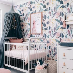 Stylish baby room design and decor ideas 26