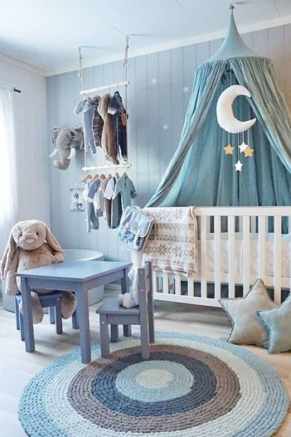Stylish baby room design and decor ideas 37