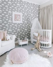 Stylish baby room design and decor ideas 47