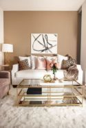 Stylish gold living room design ideas you will love 12