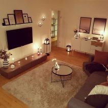 Unusual tiny living room design ideas for tiny house 18