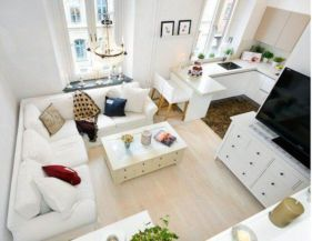 Unusual tiny living room design ideas for tiny house 20