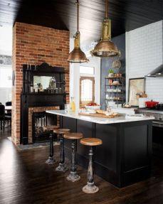 Amazing black kitchen design ideas 03