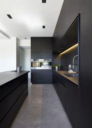 Amazing black kitchen design ideas 06