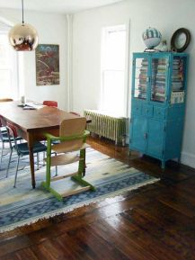 Amazing dinning room ideas with natural farmhouse style 02