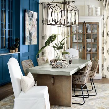 Amazing dinning room ideas with natural farmhouse style 20