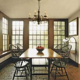 Amazing dinning room ideas with natural farmhouse style 34