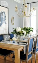 Amazing dinning room ideas with natural farmhouse style 43