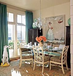 Amazing dinning room ideas with natural farmhouse style 47