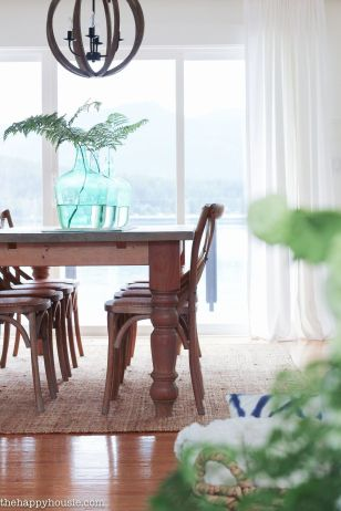 Amazing dinning room ideas with natural farmhouse style 49