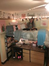 Beautiful dorm room organization ideas 28