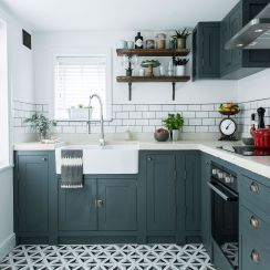 Creative kitchen cabinets makeover ideas 19