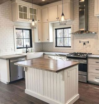 Creative kitchen cabinets makeover ideas 30