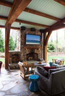 Fabulous porch design ideas for backyard 09