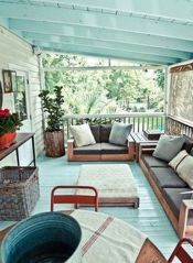 Fabulous porch design ideas for backyard 36