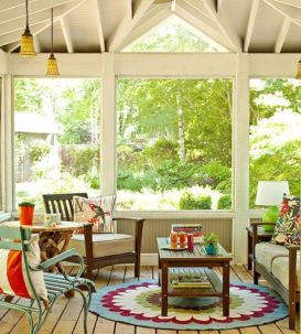 Fabulous porch design ideas for backyard 37