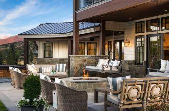 Fabulous porch design ideas for backyard 43