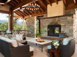 Fabulous porch design ideas for backyard 47