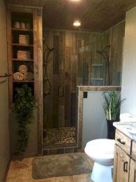 Fabulous small farmhouse bathroom design ideas 34