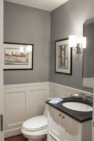 Fabulous small farmhouse bathroom design ideas 48