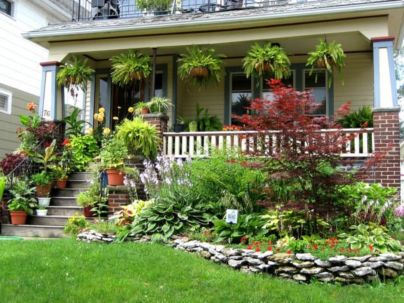 Great front yard rock garden ideas 07