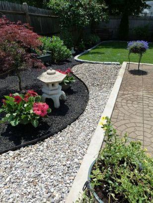 Great front yard rock garden ideas 08
