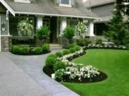 Great front yard rock garden ideas 33