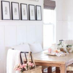 Modern spring dining room decoration ideas 04