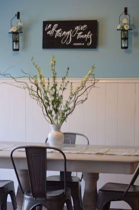 Modern spring dining room decoration ideas 08