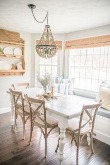 Modern spring dining room decoration ideas 14