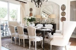 Modern spring dining room decoration ideas 26