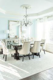Modern spring dining room decoration ideas 41