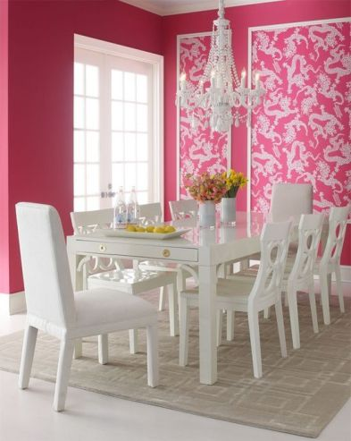 Modern spring dining room decoration ideas 45