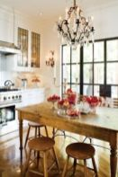 Popular modern french country kitchen design ideas 18