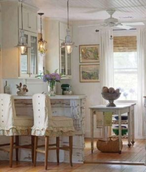 Popular modern french country kitchen design ideas 28