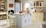 Popular modern french country kitchen design ideas 30